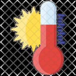 Weather Temperature Icon
