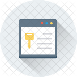 Web Access Isometric Icon