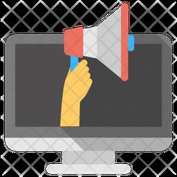 Web Advertisement Icon