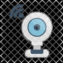 Web Camera Flat Icon
