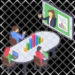 Web Conference Icon