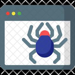 Web, Crawler Icon
