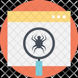 Web Crawler Icon