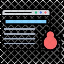 Web Crawling Icon