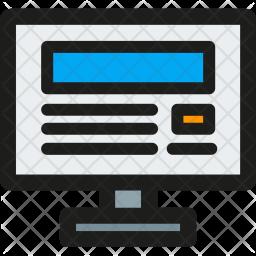 Web, Design Icon