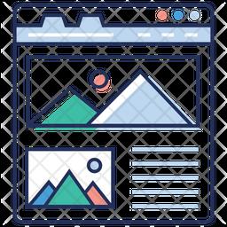 Web Designing Icon