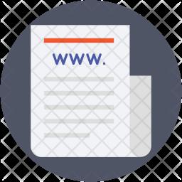 Web Documents Icon