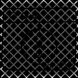 Web Error Icon
