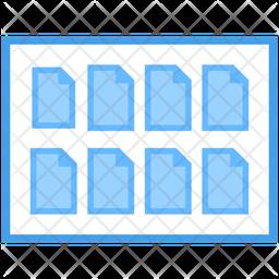 Web Files Icon