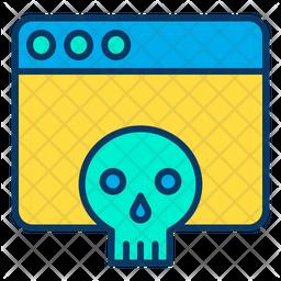 Web hacker Icon