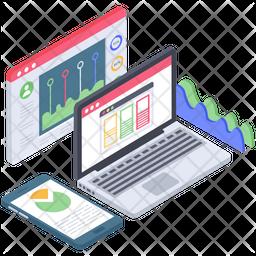 Web Infographic Vector Icon