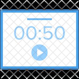 Web Interface Internet Interface Videography Icon