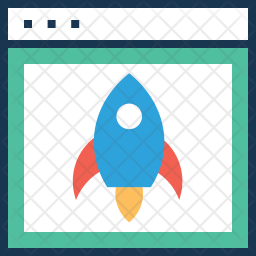 Web Launch Icon