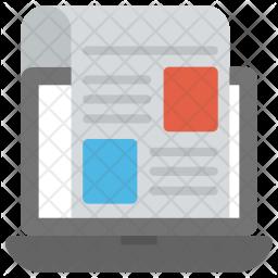 Web Layouts Icon