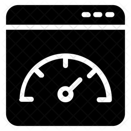 Web Optimization Glyph Icon