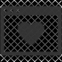 Web Page Bookmark Icon