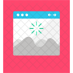 Web Page Loading Icon