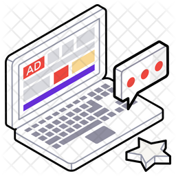 Web security Isometric  Logo Icon