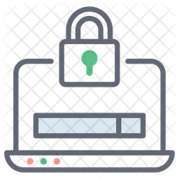 Web security Colored Outline Icon