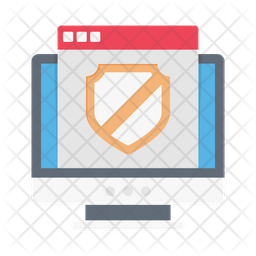 Web Security Flat Icon