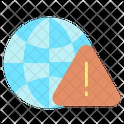 Web Security Alert Icon