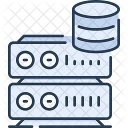 Web server and database Icon