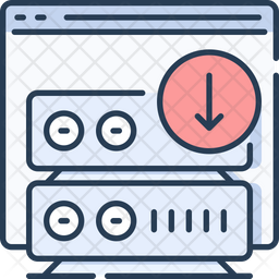Web server download Icon