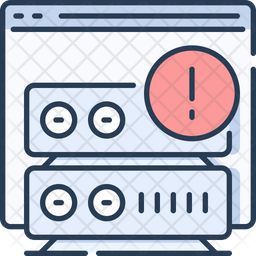 Web server error Icon