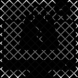 Web Shopping Glyph Icon