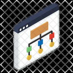 Web Sitemap Icon