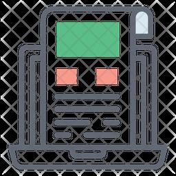 Web Sketch Colored Outline Icon