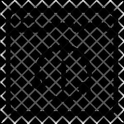 Web Syncing Icon