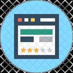 Web Template Icon