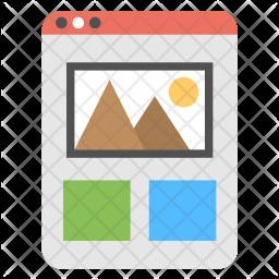Web Template Logo Icon