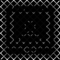 Web User Glyph Icon