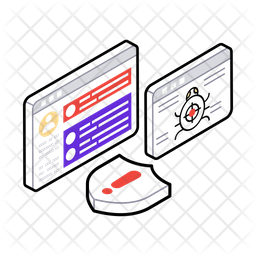 Web Virus Icon