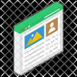 Webpage Image Icon