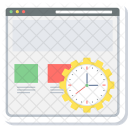 Webpage Load Time Icon