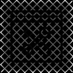Webpage maintenance Line Icon