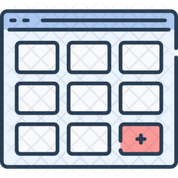 Webpage Structure Icon