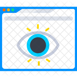 Webpage View Icon
