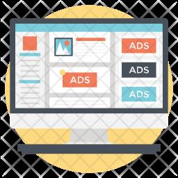 Website advertise Icon