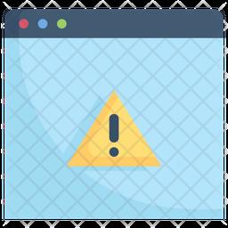 Website Alert Icon