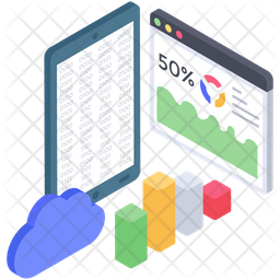 Website  Analytics Vector Icon