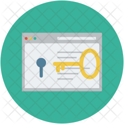 Website and key Icon