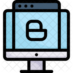 Website Blog Colored Outline Icon