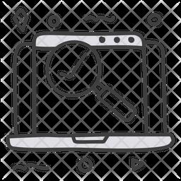 Website Checker Icon