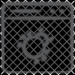 Website Crawler Icon