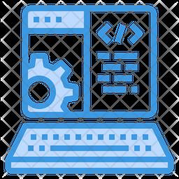Website Developing Icon