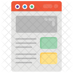 Website Layouts Icon